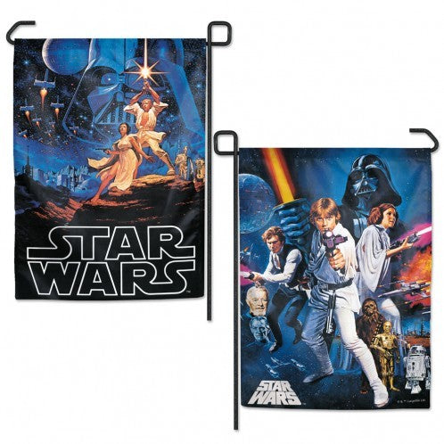 Star Wars Poster Collage Garden Flag