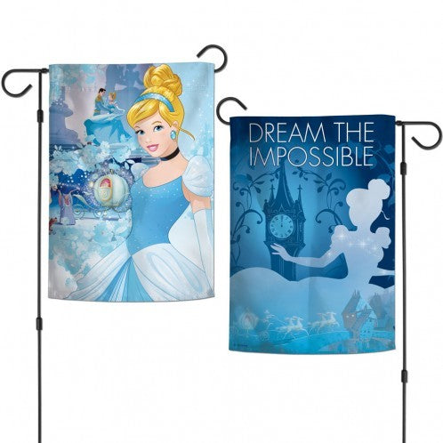 Cinderella Dream the Impossible Garden Flag