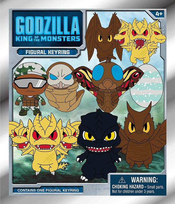 Godzilla: King of The Monsters - 3D Foam Collectible Bag Clip in Blind Bag - Kryptonite Character Store