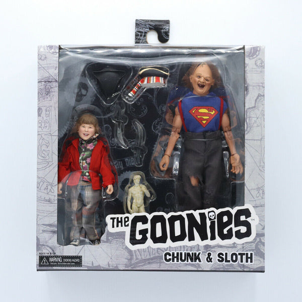 "The Goonies Chunk And Sloth 8"" 2 Pack"