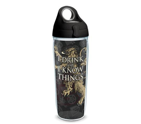 "Game of Thrones ""I Drink And I Know Things"" 24 oz. Tervis Water Bottle"