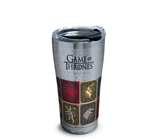 "Game of Thrones ""House Sigils"" 20 oz. Stainless Stell Tervis Tumbler- Kryptonite Character Store"