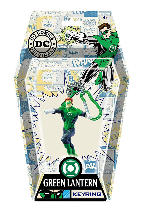 DC Green Lantern PVC Figural Key Ring