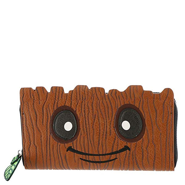 Marvel Groot Face Wallet Loungefly Avengers Guardians of the Galaxy