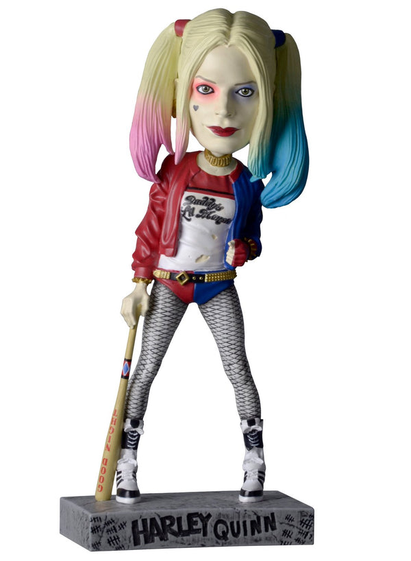 Suicide Squad Movie Head Knocker Harley Quinn Toy - Kryptonite Character Store
