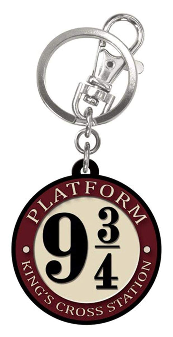 Harry Potter - Platform 9 3/4 - Rubber Keychain, Multi-Colored - Kryptonite Character Store