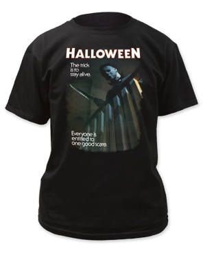 Halloween Movie  Michael Myers Adult Fitted T-shirt - Kryptonite Character Store