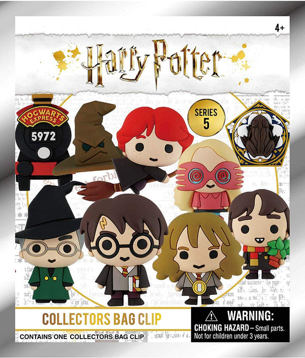 Harry Potter Series 5 - 3D Foam Bag Clip in Blind Bag