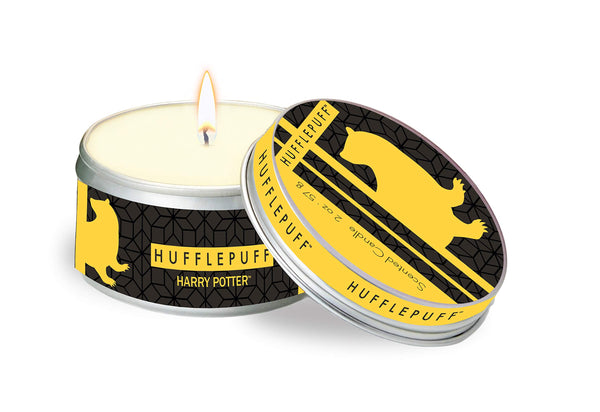Harry Potter Hufflepuff Scented Tin Candle