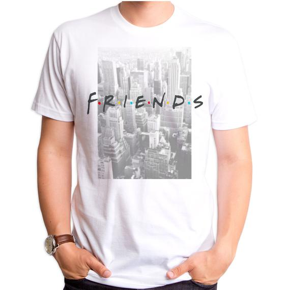 Friends Skyview Short Sleeve Men's Crew Tee