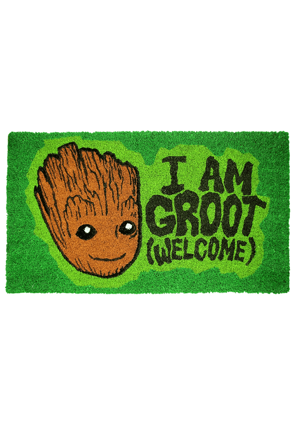 I Am Groot Guardians of the Galaxy Welcome Doormat- Kryptonite Character Store