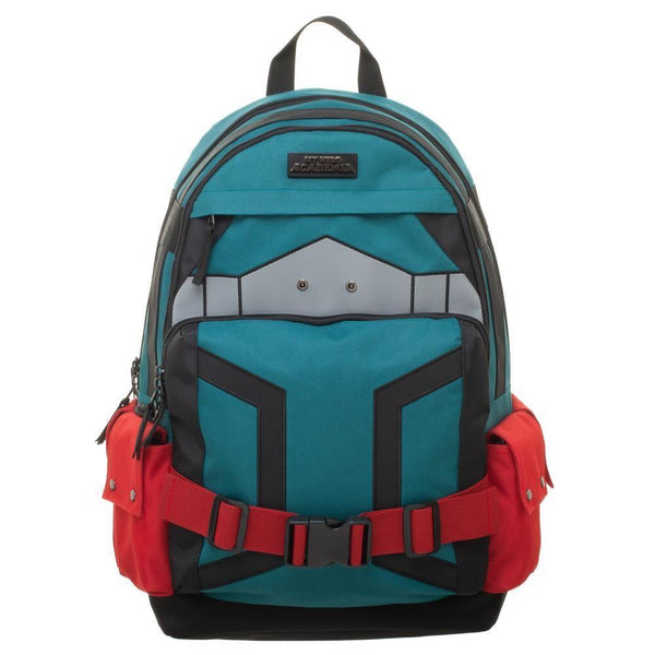 MY HERO ACADEMIA DEKU'S STYLE METAL EMBLEM BACKPACK BIOWORLD