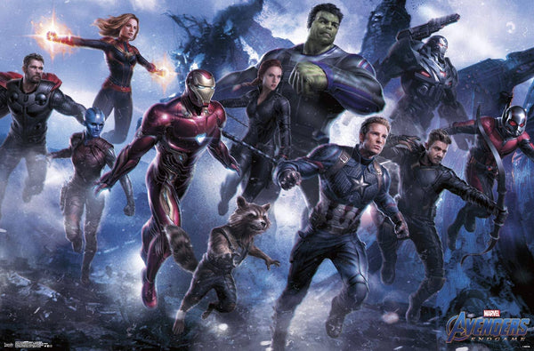 Avengers: Endgame Legendary Group Poster