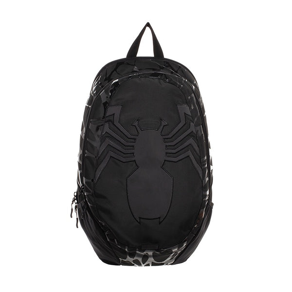 MARVEL VENOM ALL OVER SLIME BLACK BACKPACK BIOWORLD