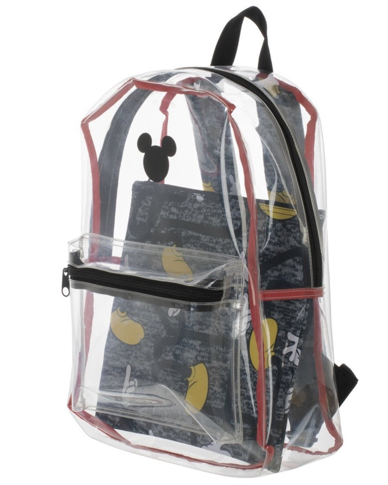 Mickey Mouse Clear Backpack