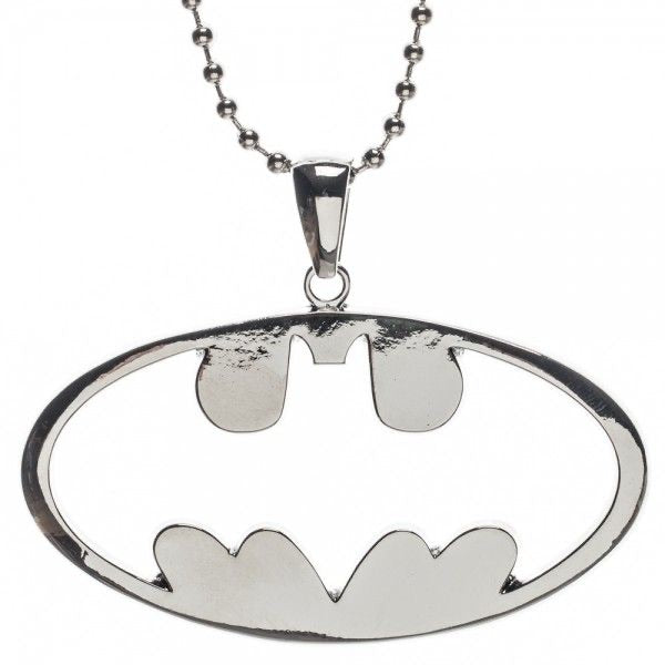 DC Comics Batman: Cutout Logo Necklace Pendant