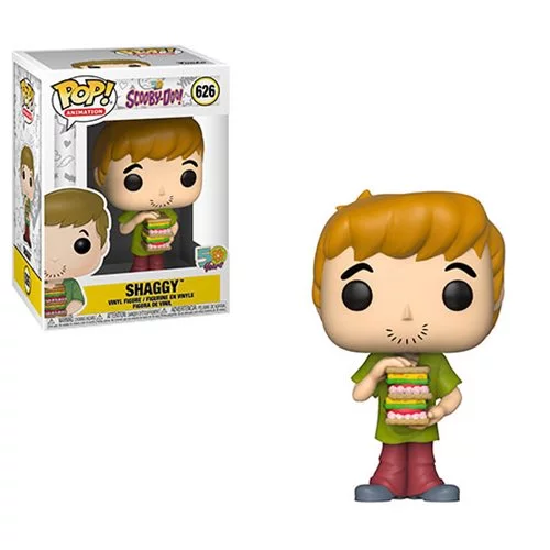 Scooby Doo - Shaggy w/ Sandwich Pop Animation Vinyl Figure - Kryptonite Character Store