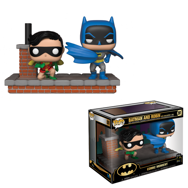 DC Comics: Batman & Robin 1972 POP Moments Vinyl Figure - Kryptonite Character Store