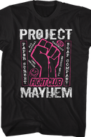 Fight Club 1999 Dramatic Action Movie Project Mayhem Soap Bar Adult T-Shirt - Kryptonite Character Store