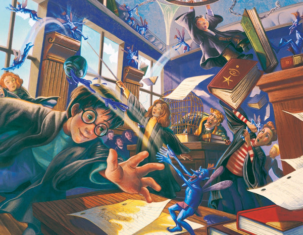 Harry Potter Pesky Pixies - 300 Piece Jigsaw Puzzle - Kryptonite Character Store