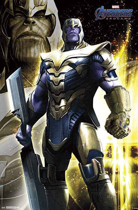MARVEL AVENGERS ENDGAME THANOS POSTER TRENDS