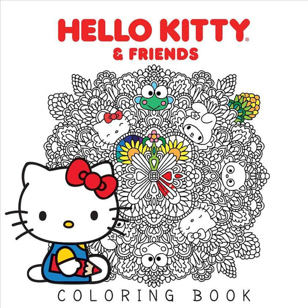 Hello Kitty & Friends Coloring BookHello Kitty & Friends Coloring Book