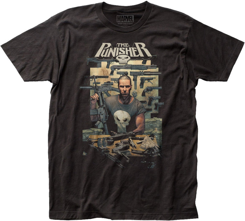 In The Beginning Punisher T-Shirt *CLEARANCE* - Kryptonite Character Store