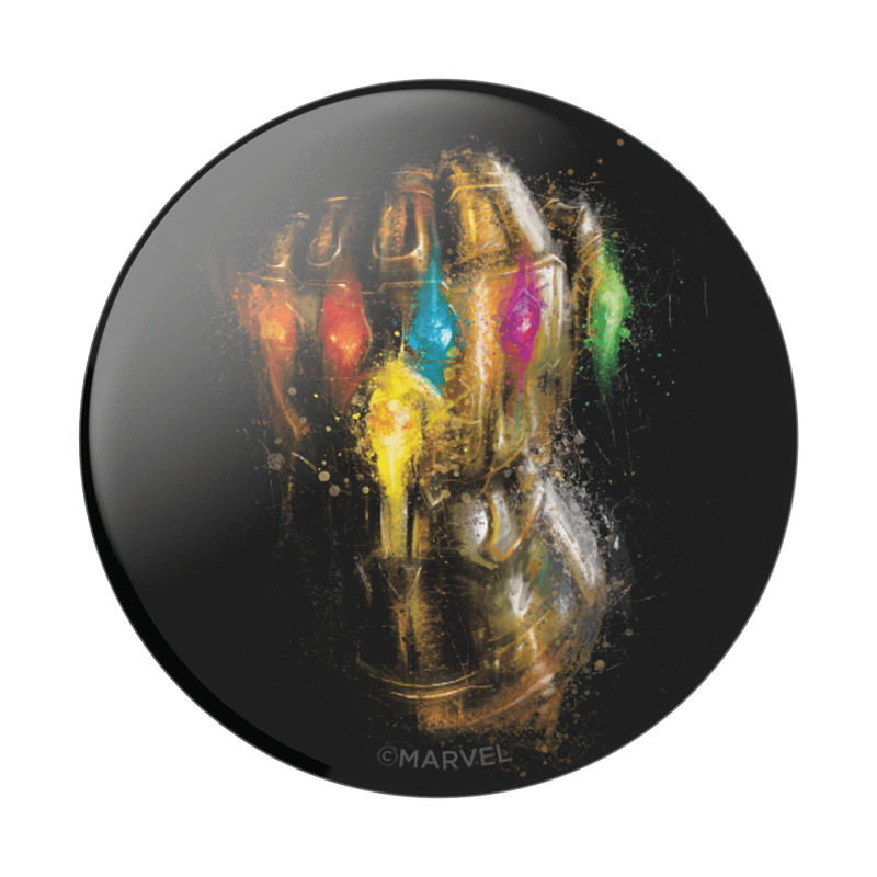 Pop Socket - Marvel Comics - Infinity Gauntlet in Glossy Print - Kryptonite Character Store