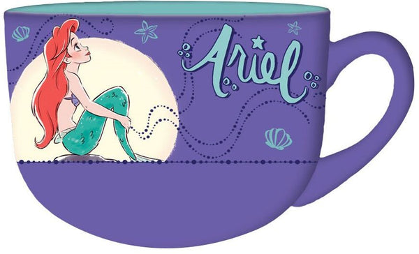 Disney Little Mermaid Princess Ariel Ceramic 24oz Mug - Kryptonite Character Store