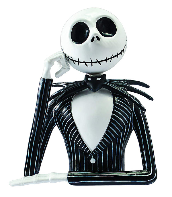 Disney - Nightmare Before Christmas -Jack Skellington Bust Coin Bank - Kryptonite Character Store