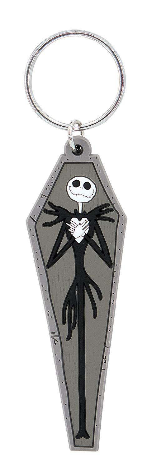 Nightmare Before Christmas Novelty Key Ring, Multi Color - Kryptonite Character Store