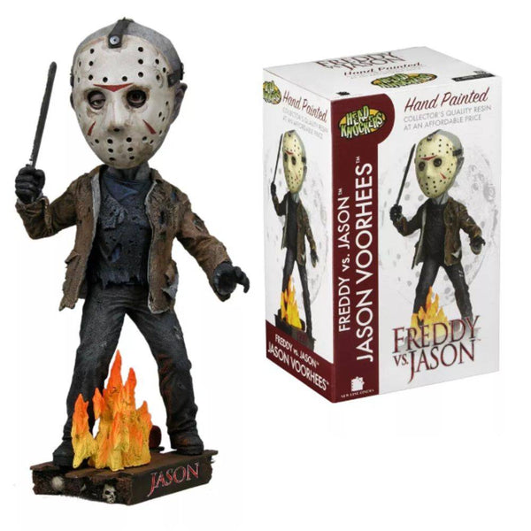 Freddy vs Jason – Jason Head Knocker Bobble Head Figure - Kryptonite Character Store