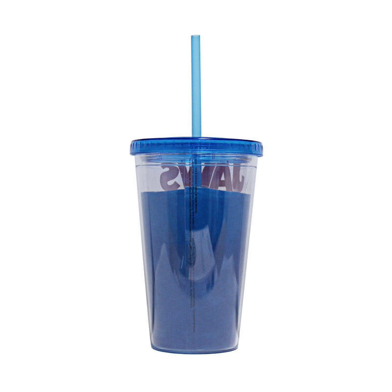 Jaws Movie Plastic Cold Cup with Lid and Straw, 16-Ounces - Kryptonite Character Store