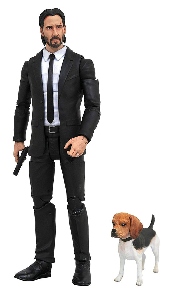 John Wick Select Action Figure - Kryptonite Character Store