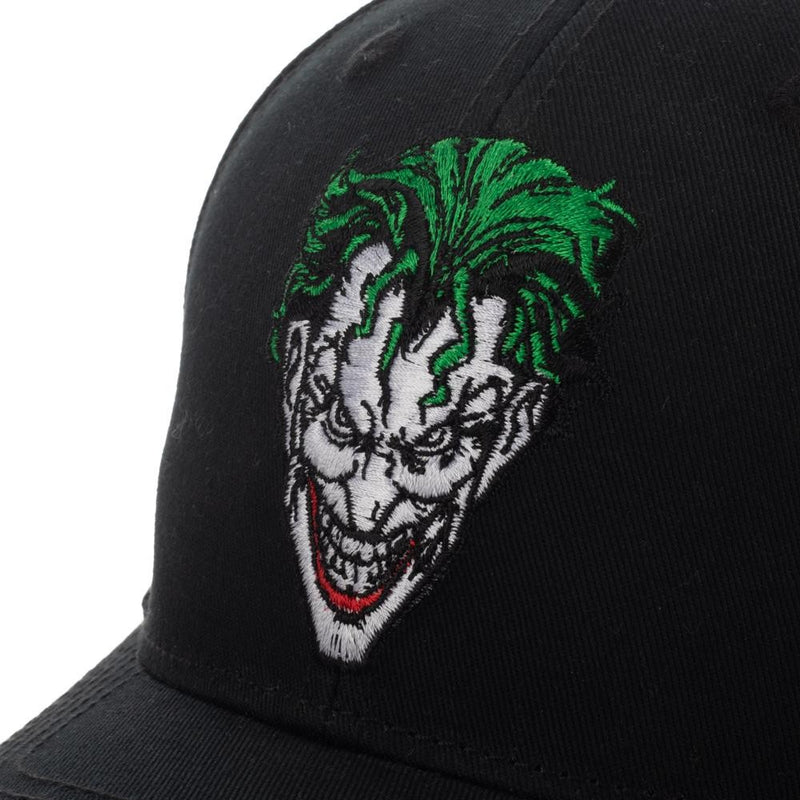 DC Comics - Joker - Adult Size Pre-Curved Bill Snapback - Kryptonite Character Store