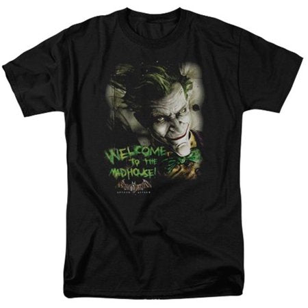Joker Welcome To The Madhouse - Short Sleeve Adult T-shirt