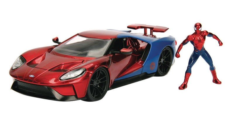 Jada - Spider-Man 2017 Ford GT Model Car - Kryptonite Character Store