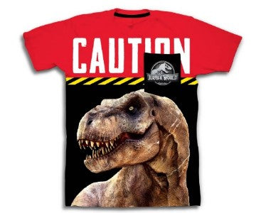 Jurassic World Boys Trex Shirt W/ Pocket