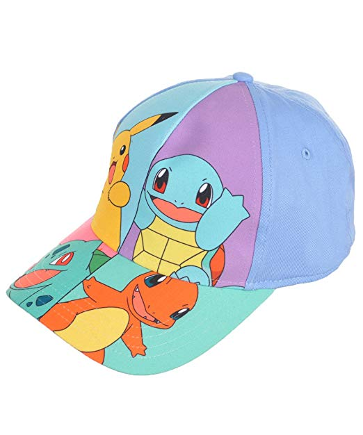 Pokemon - Characters Kid's Size Baseball Cap Hat (size 4-14)