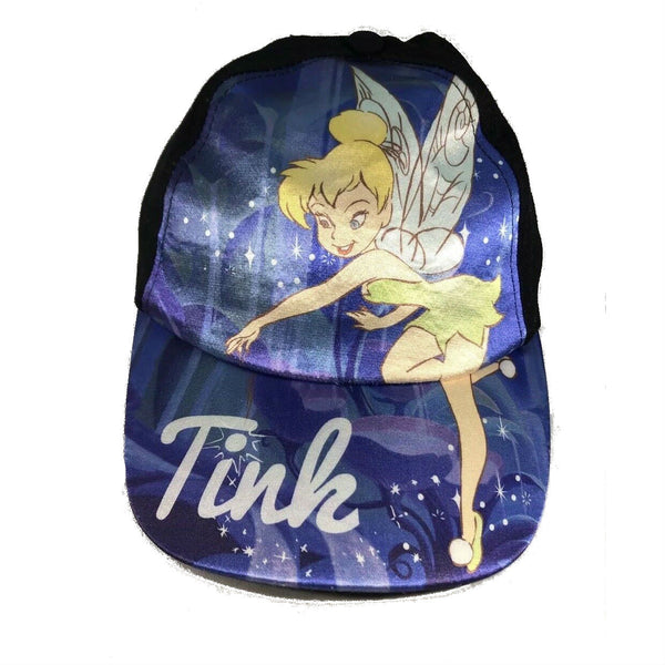 Tinkerbell - Tink - Adjustable Snapback Kids' Cap Hat - Purple - Kryptonite Character Store