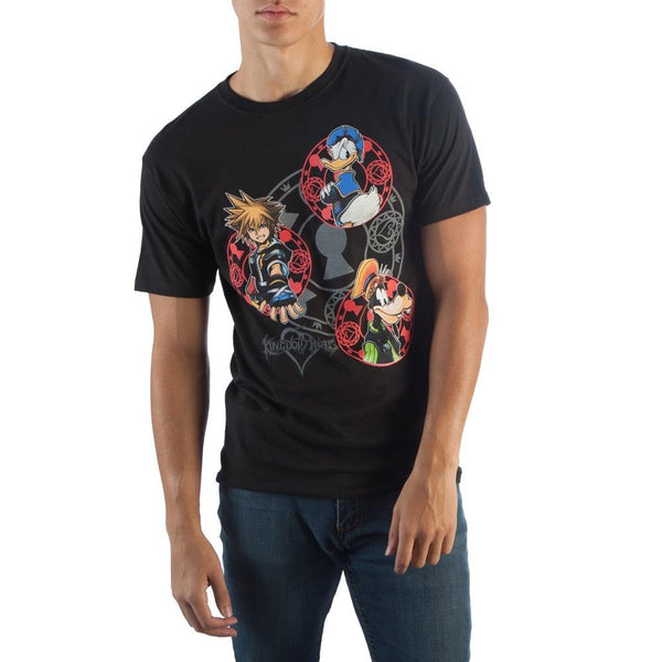 Kingdom Hearts Group Tee - Kryptonite Character Store