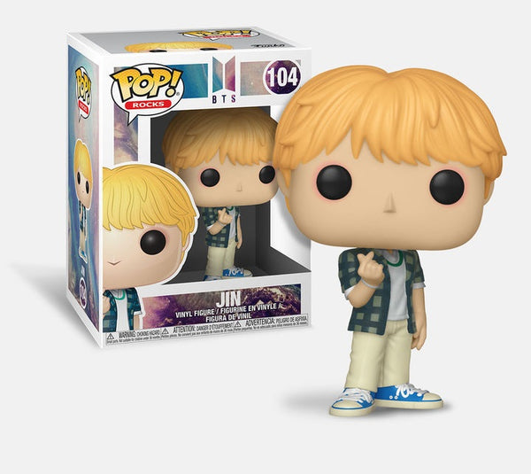 BTS - Jin POP Rocks Vinyl Figure - Kryptonite Character Store