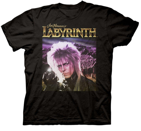 Jim Henson's Labyrinth - Crystal Ball Adult Fitted T-Shirt - Black - Kryptonite Character Store