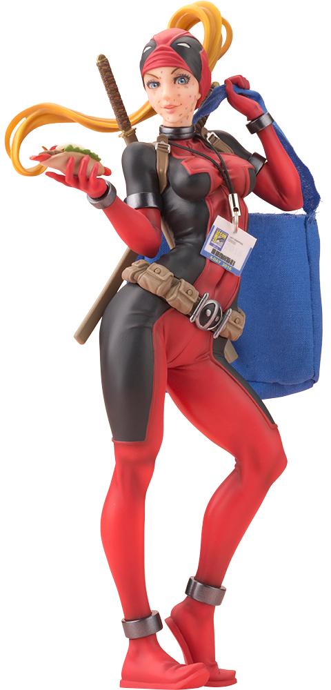 Lady Deadpool Limited Edition 2016 Comic Con Exclusive Marvel Bishoujo Statue