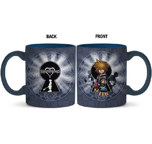 Kingdom Hearts Sora Keyhole 20oz Ceramic Mug - Kryptonite Character Store