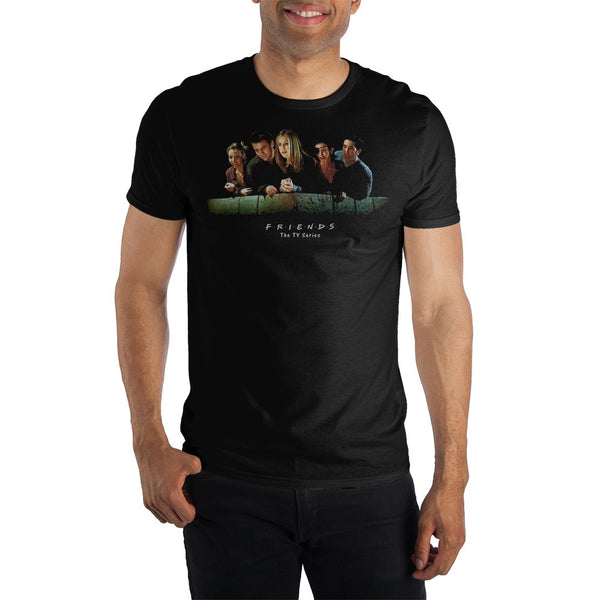 Friends Black T-shirt