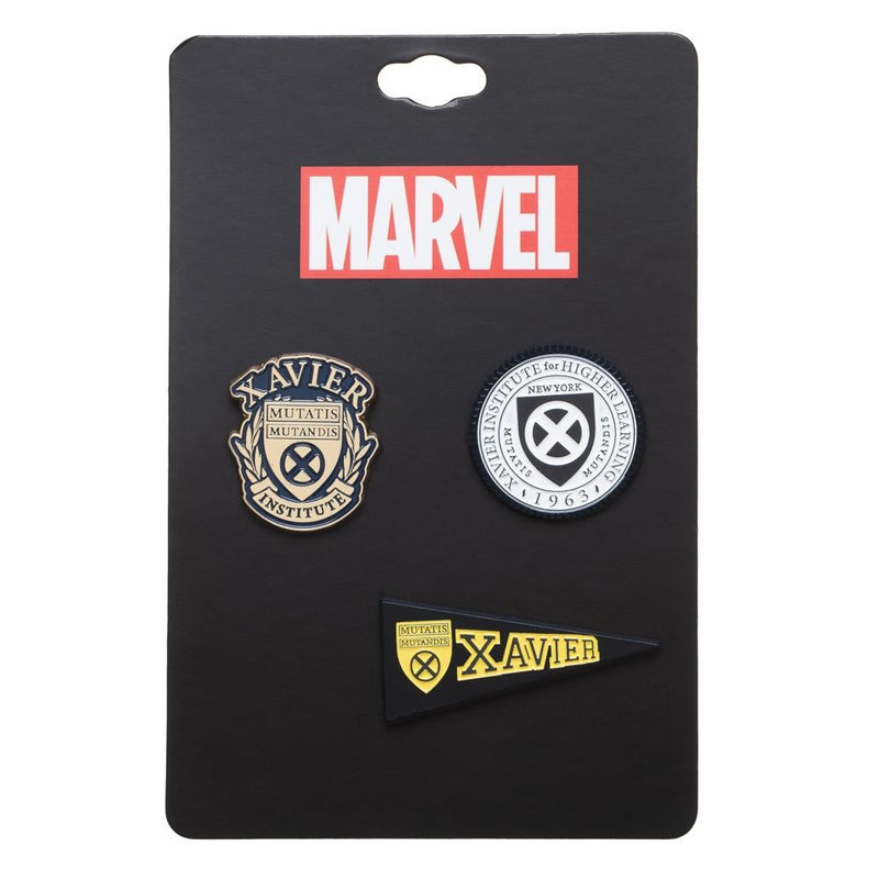 Xmen Alma Mater Lapel pin set