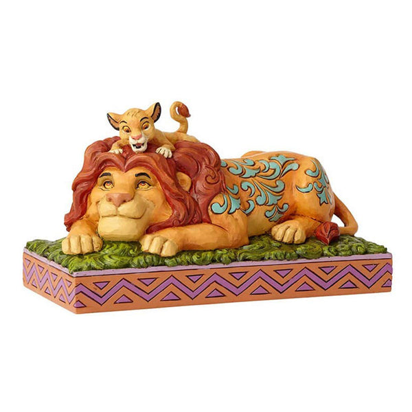 Lion King Simba and Mufasa Father's Pride Figurine- Kryptonite Character Store
