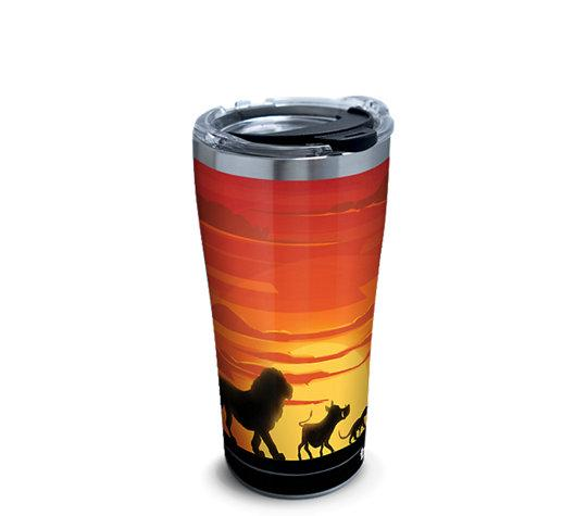 Disney: Lion King Silhouette 20 oz. Stainless Steel Tervis Tumbler- Kryptonite Character Store