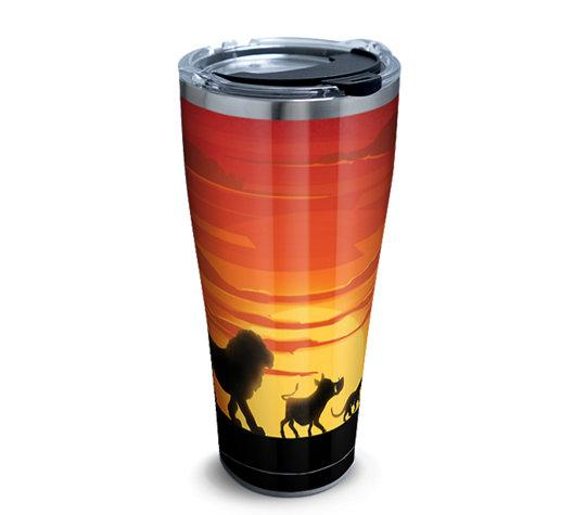Disney: Lion King Silhouette 30 oz. Stainless Steel Tervis Tumbler- Kryptonite Character Store